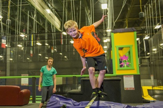 fun games for kids at get air